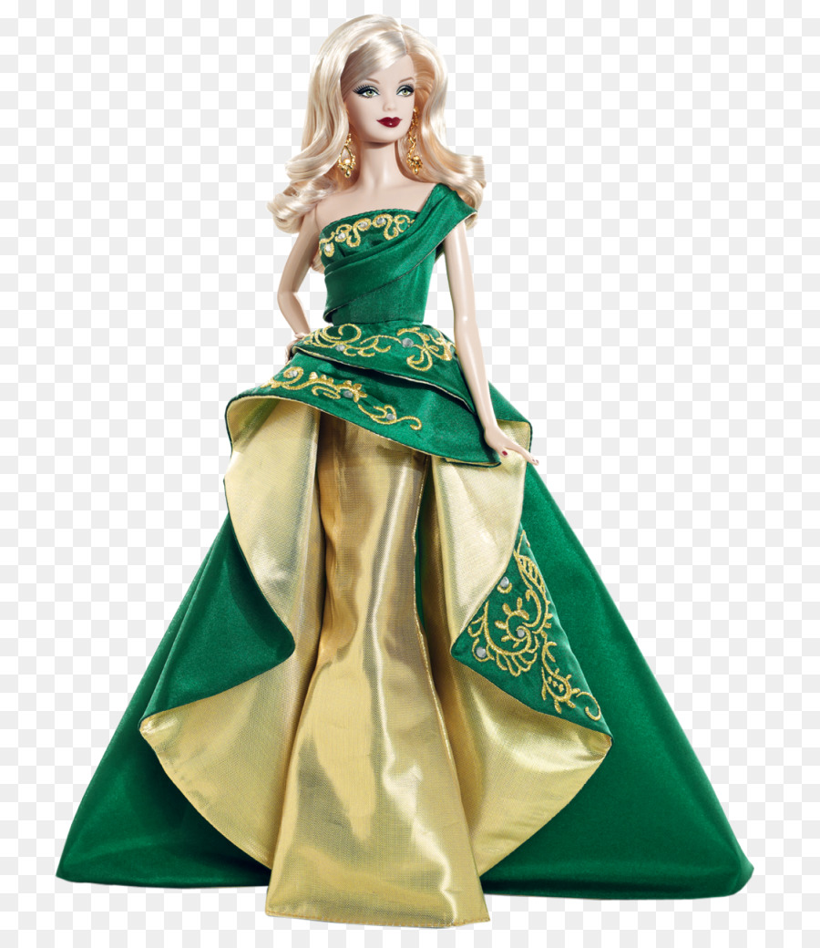 Barbie Doll Holiday Gown Dress Barbie Doll Png Download 7911024