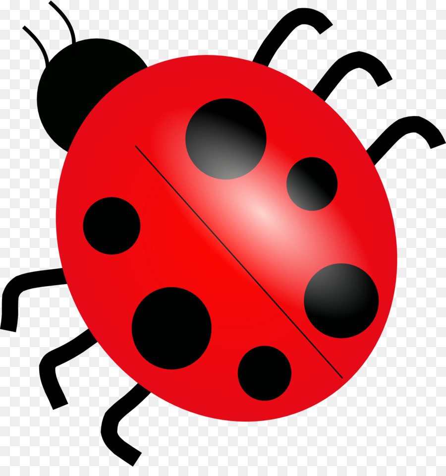 Nice Ladybird Drawing Clip Art   Red Beetle Cartoon