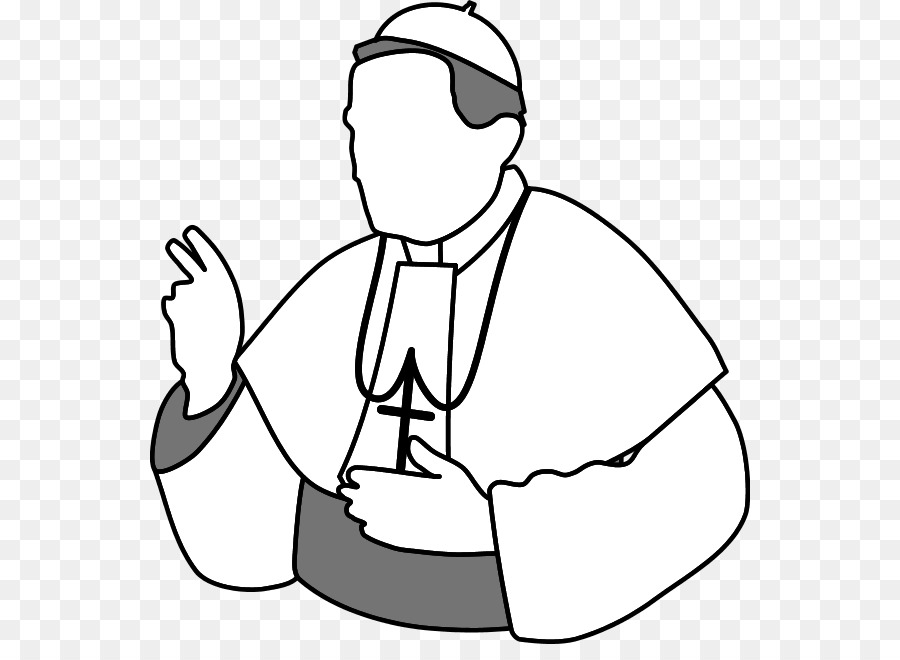 pope catholic church clip art priest blessing cliparts png rh kisspng com priest clipart black and white priest clipart black and white