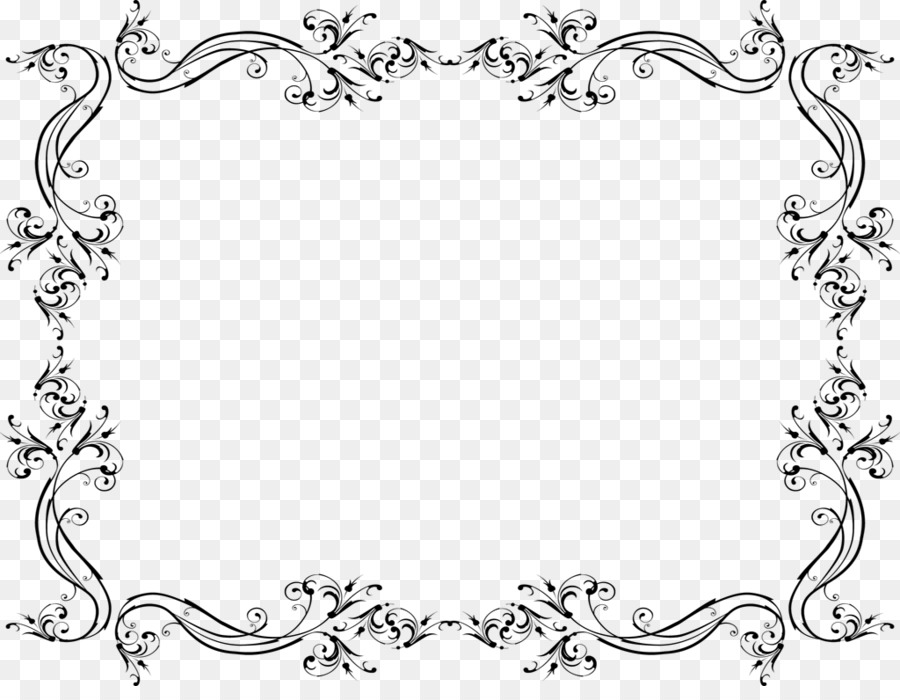 Wedding Invitation Clip Art   Wedding Border PNG File