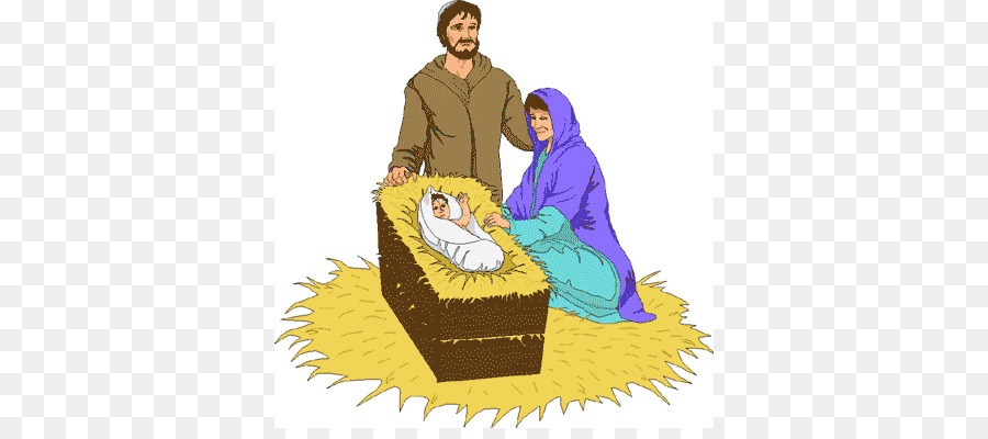 Weihnachten Im Christentum.Bibel Weihnachten Das Christentum Die Geburt Jesu Stabile Cliparts