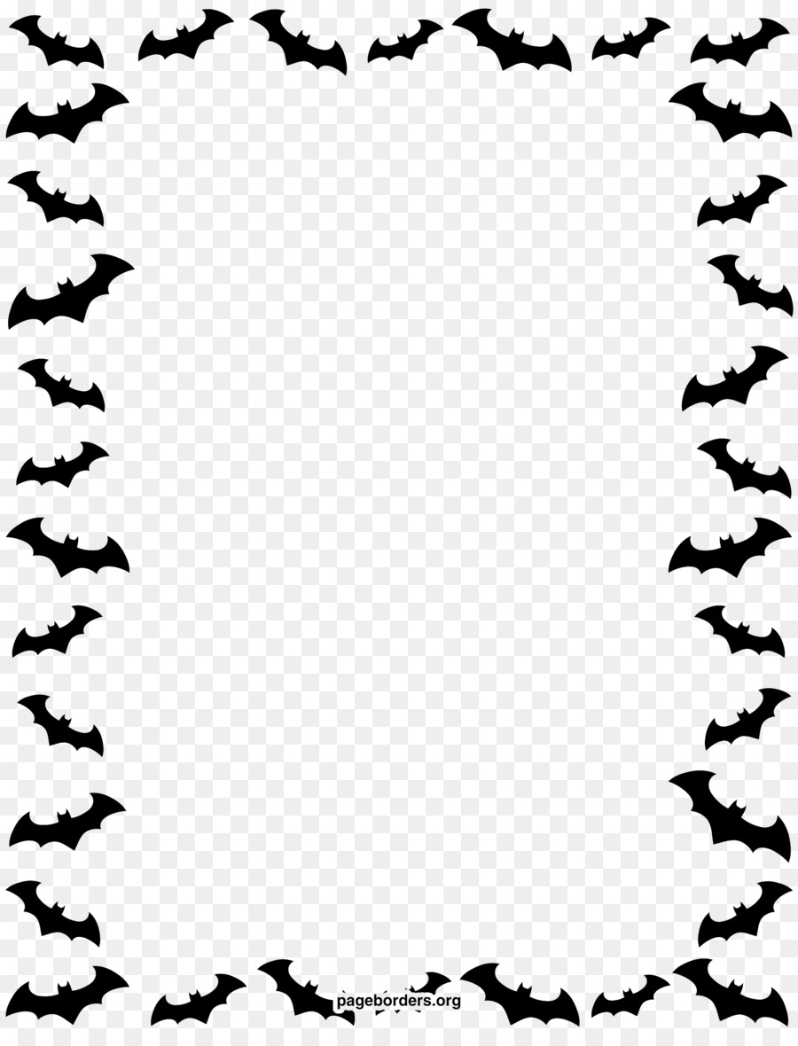 halloween paper jack-o-lantern clip art - halloween border