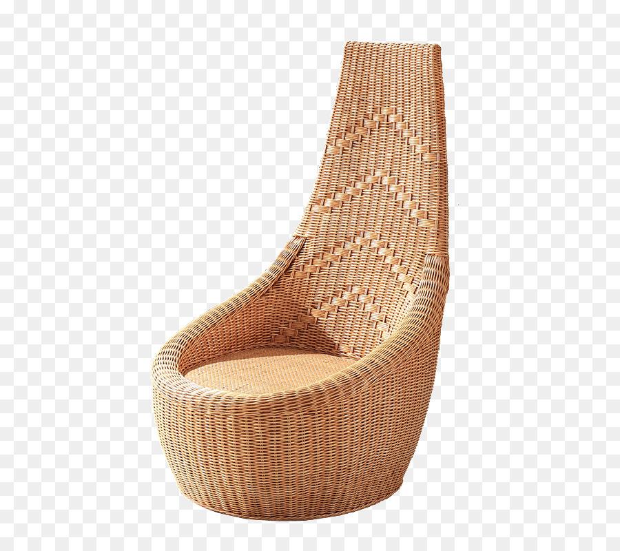 Eames Silla De Salón Muebles De Mimbre - Rattan Natural de la silla ...
