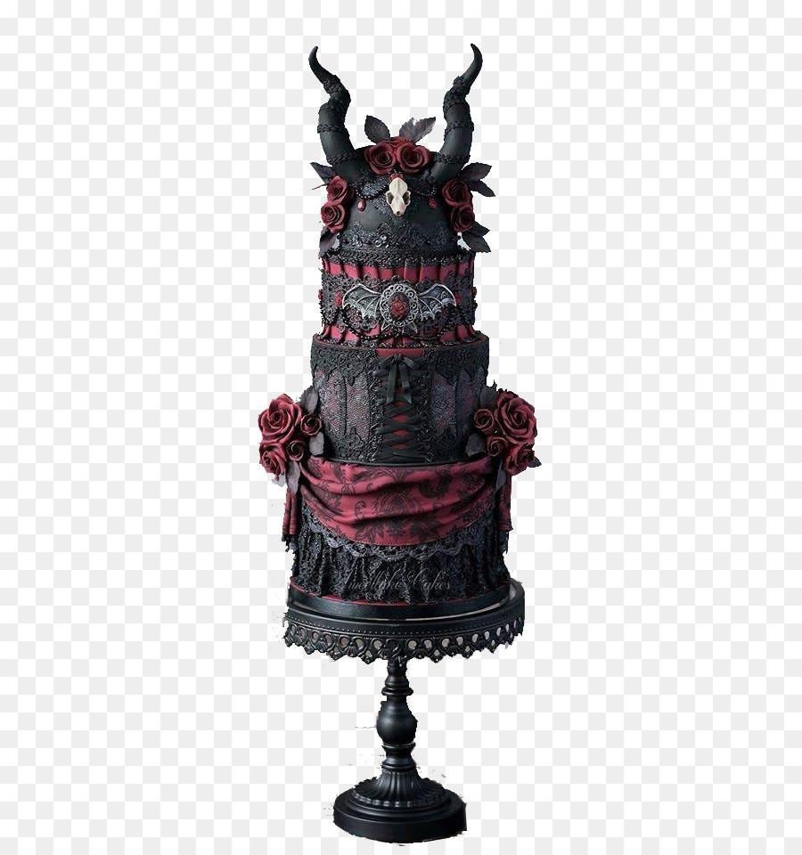 Hochzeits Kuchen Geburtstags Kuchen Halloween Kuchen Gothic Dark