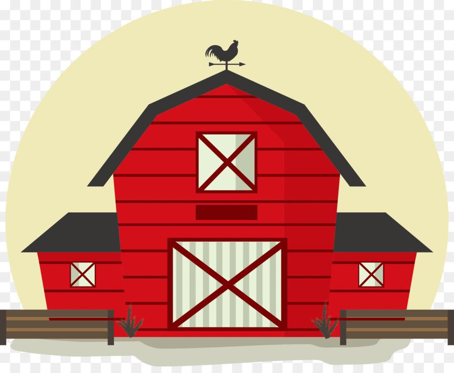 Philippines Barn Cartoon Illustration