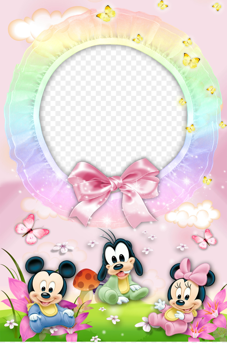 Mickey Mouse Minnie Mouse Donald Duck Pluto Picture frame - Mood ...