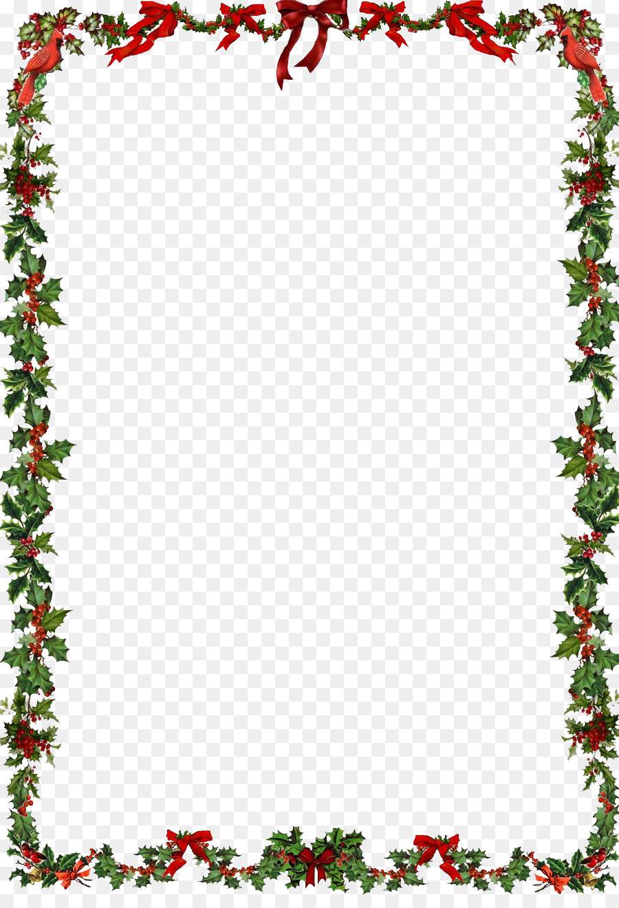 christmas ornament santa claus clip art christmas frame png clipart