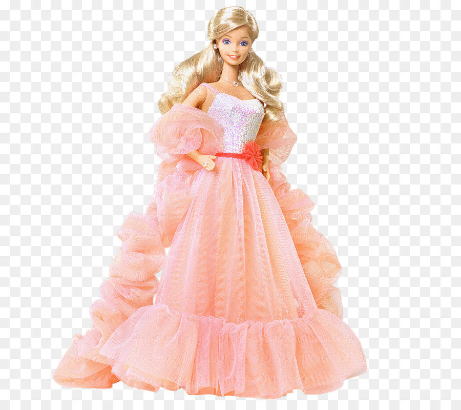 Peaches and cream Barbie Doll - Barbie doll png download - 800*800 ...