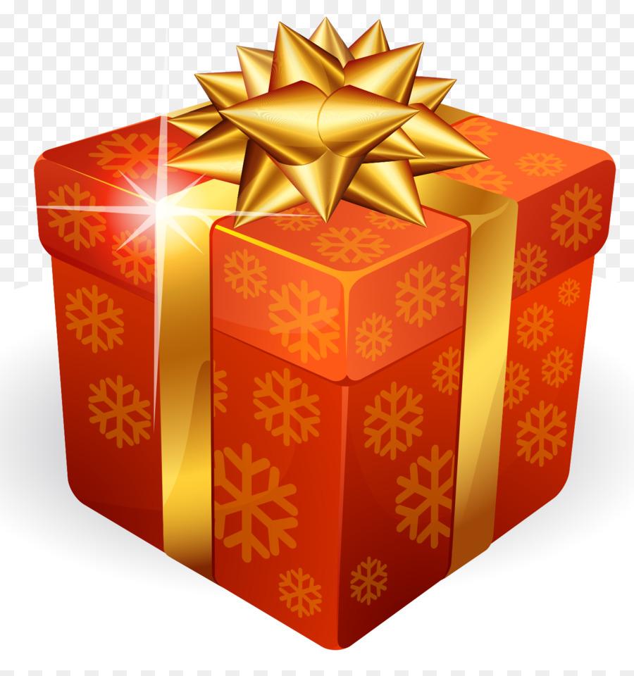 christmas gift box gold gift box png