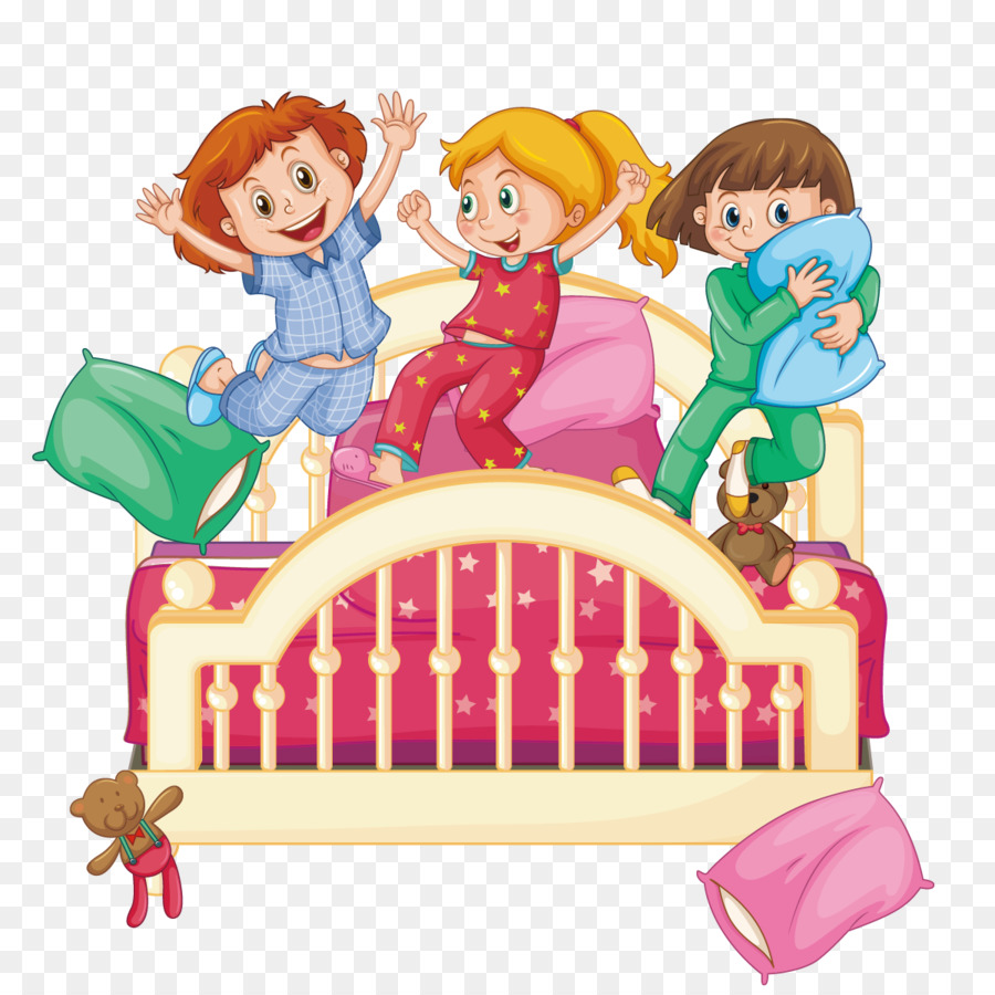 pillow fight sleepover clip art vector pillow fight png download rh kisspng com sleepover clipart boy free clipart sleepover party