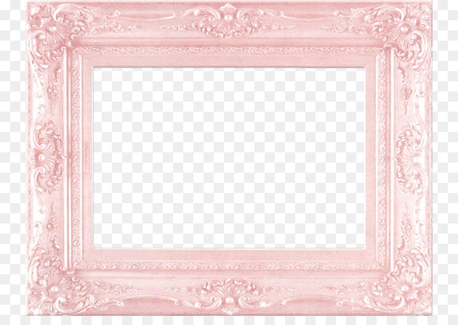 Pink Picture frame - Pink Frame Border European pattern png download ...