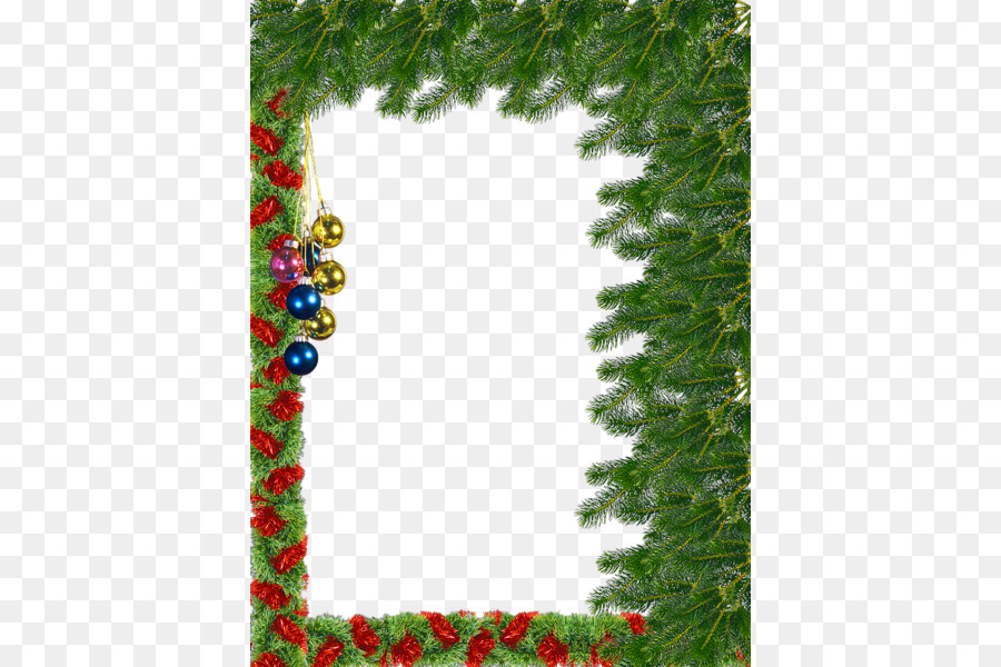Christmas Picture frame - Christmas Frame Transparent Background png ...