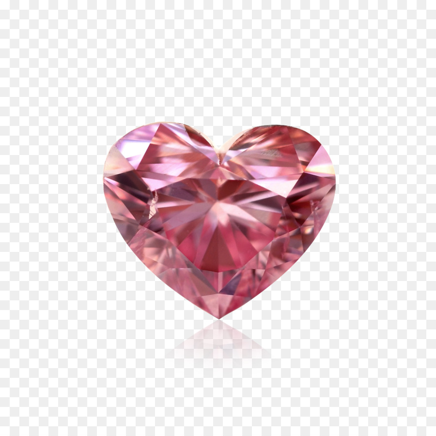 Pink diamond Heart Schapell Jewelers - Pink Diamond Heart PNG HD png ...