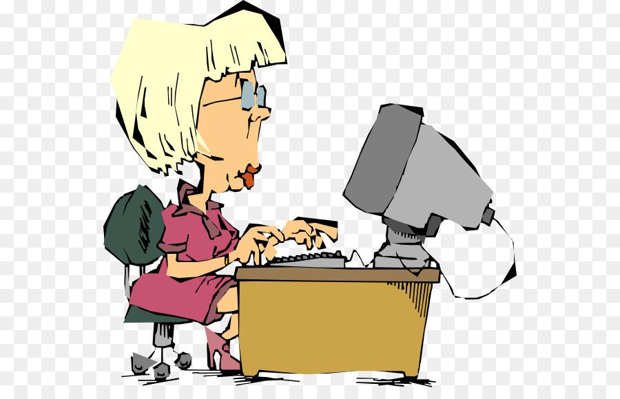 Computer Clip Art Funny Lady Cliparts