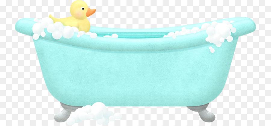 Badewanne Handtuch Badezimmer Baden Kleine Gelbe Ente In Der