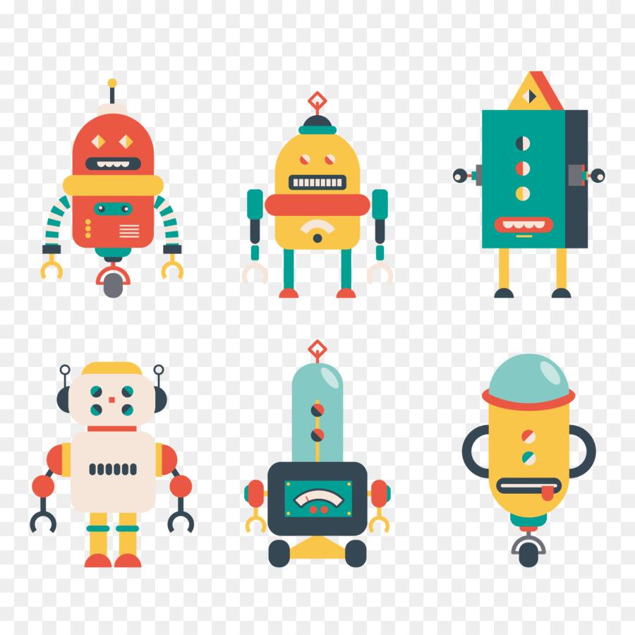 robotics euclidean vector robot icon png download 1500 free vector download crown free vector bow