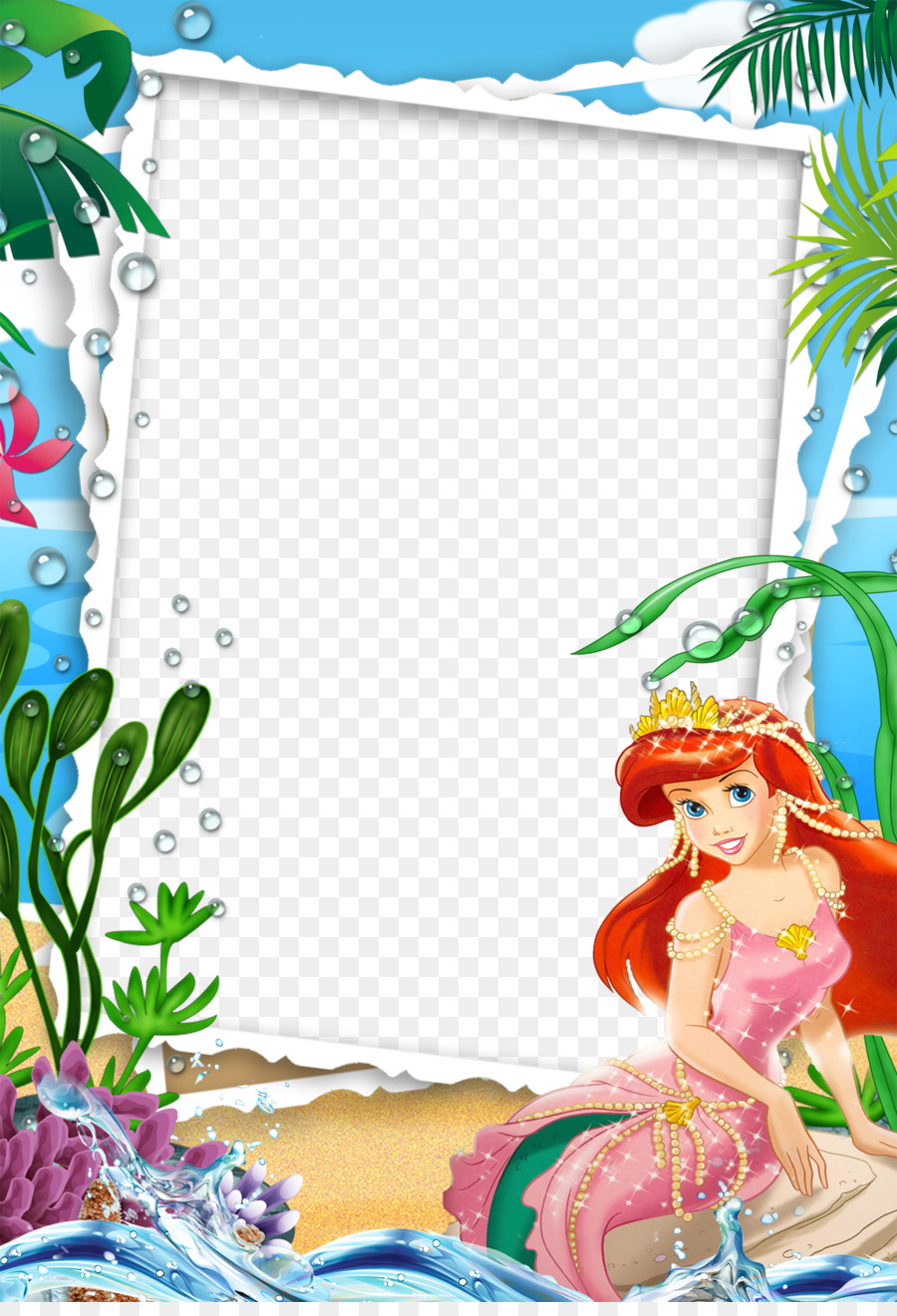 Ariel Picture Frame Mood Frame Pictures Png Download