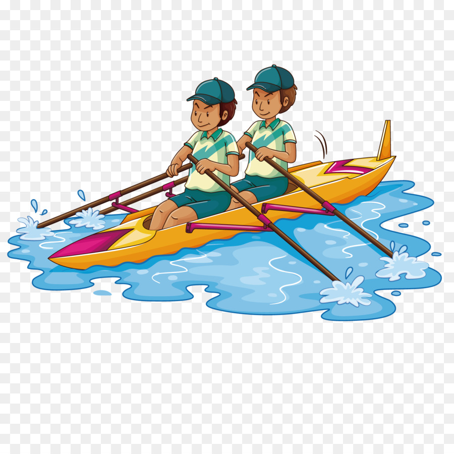 rowing kayak stock photography clip art rowing twins png download rh kisspng com crew rowing clipart rowing machine clipart