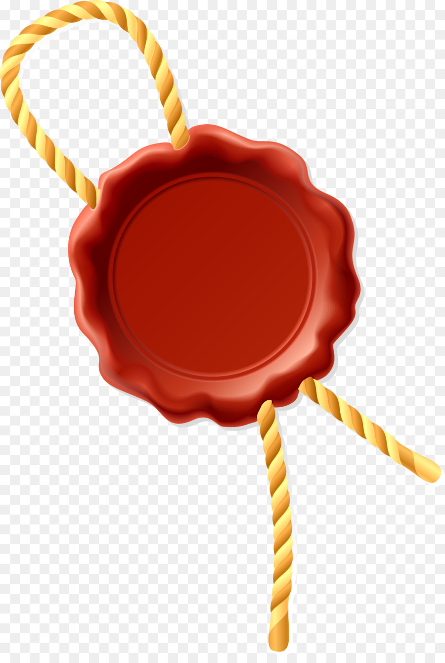 Sealing wax Envelope Euclidean vector - Badge wax seal png download ...