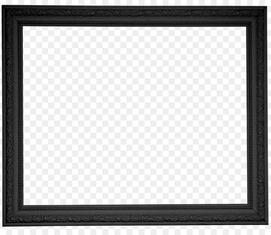 Black and white Chessboard Square Pattern Creative black frame png