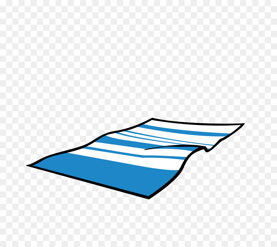 Beach Towel Clip Art: Towel Beach Blanket Clip Art