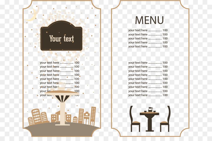 cafe menu brunch restaurant food