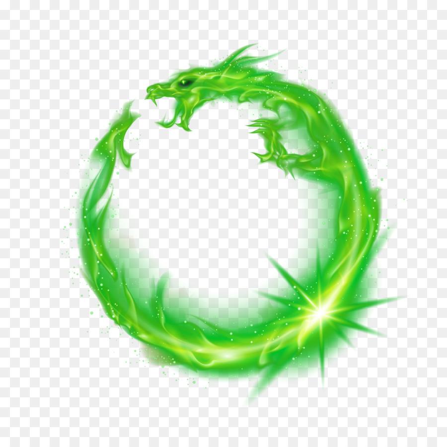 Llama De Fuego - Dragón Verde Formatos De Archivo De Imagen - 4583 ...