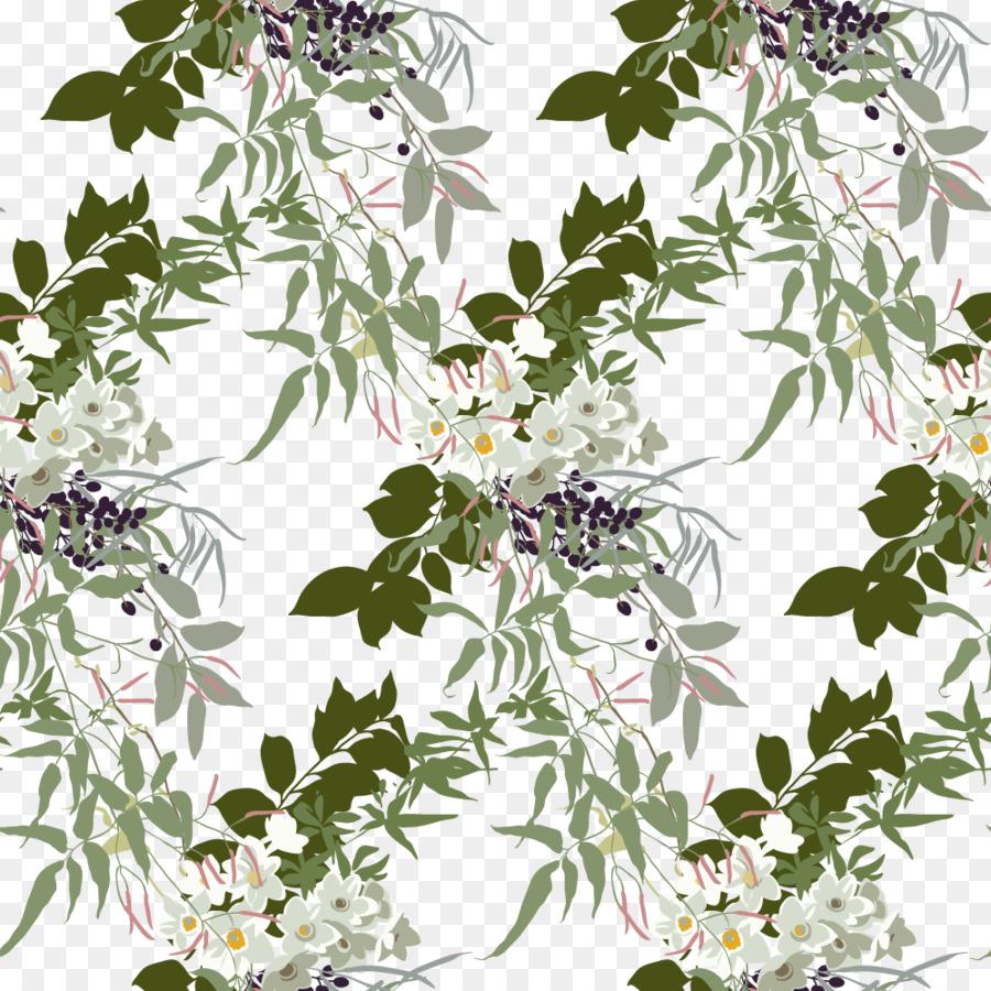 Jasmine Flower Floral Design Pattern Vector Lilac Png Download