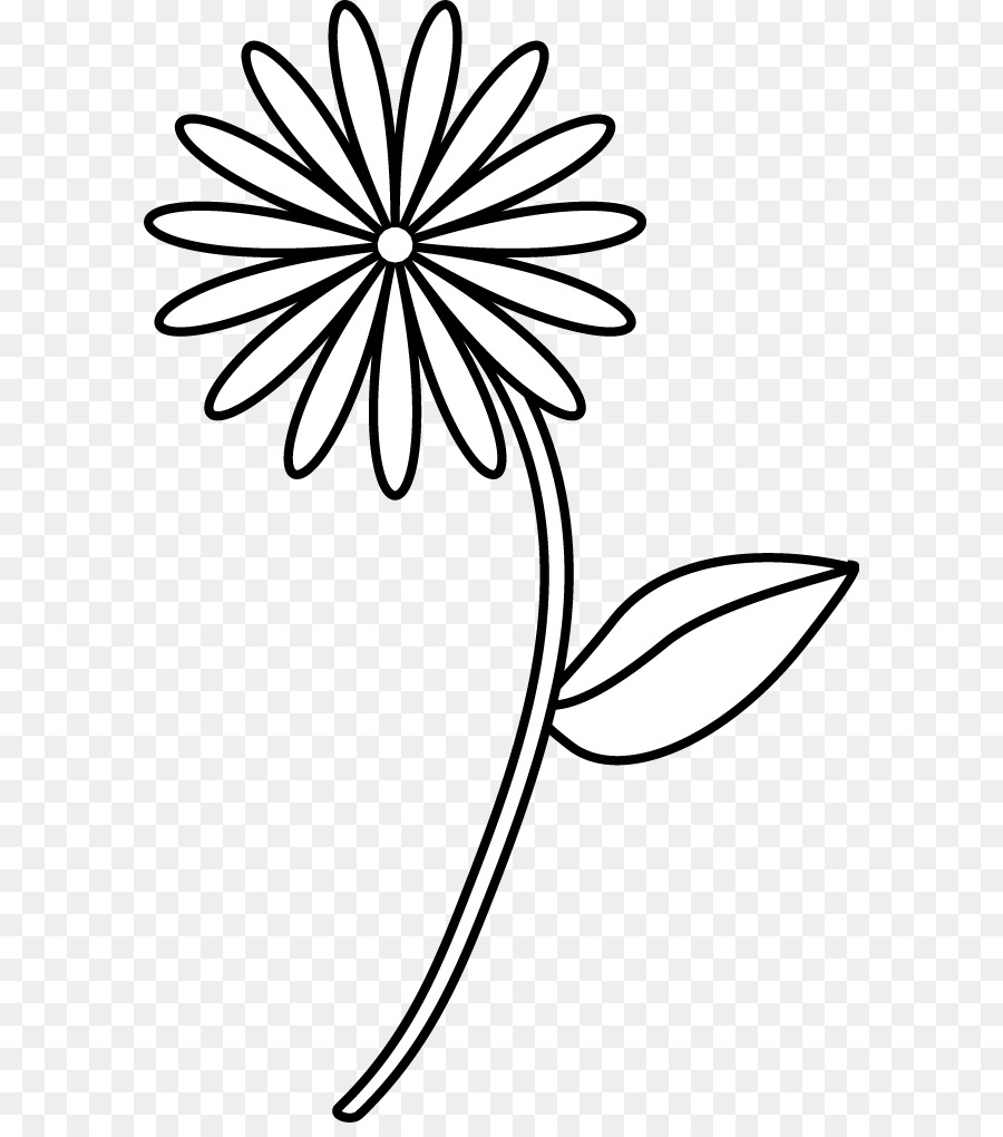 Quick, Draw! Drawing birds Flower Sketch - Simple Flower Drawing png ...