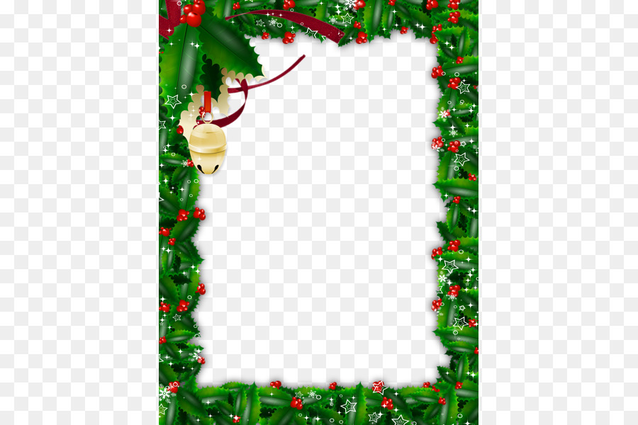 Christmas tree Picture frame - Christmas Frame PNG HD png download ...