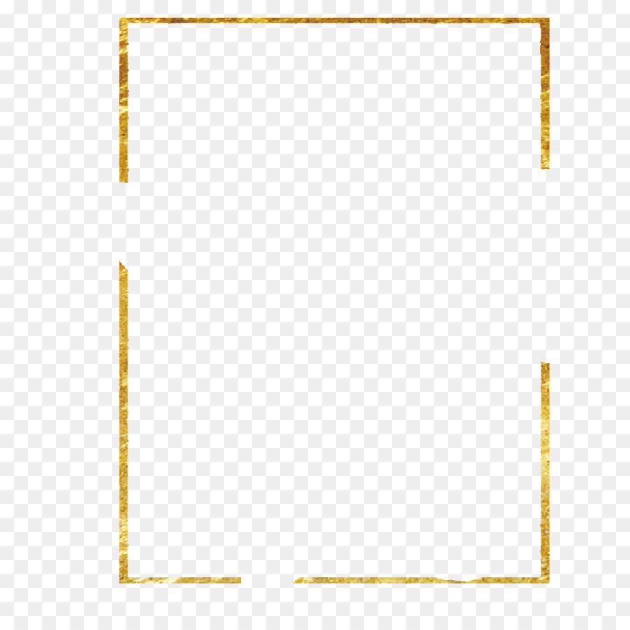 material pattern old golden frame 14171393 transprent