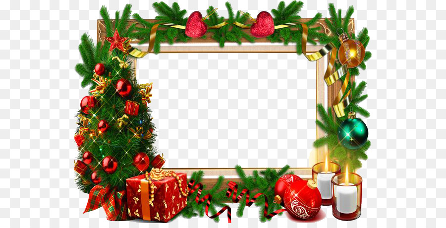 Christmas card Picture frame - Christmas Frame PNG Free Download png ...