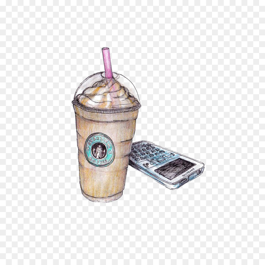 Coffee Latte Milkshake Starbucks Drawing