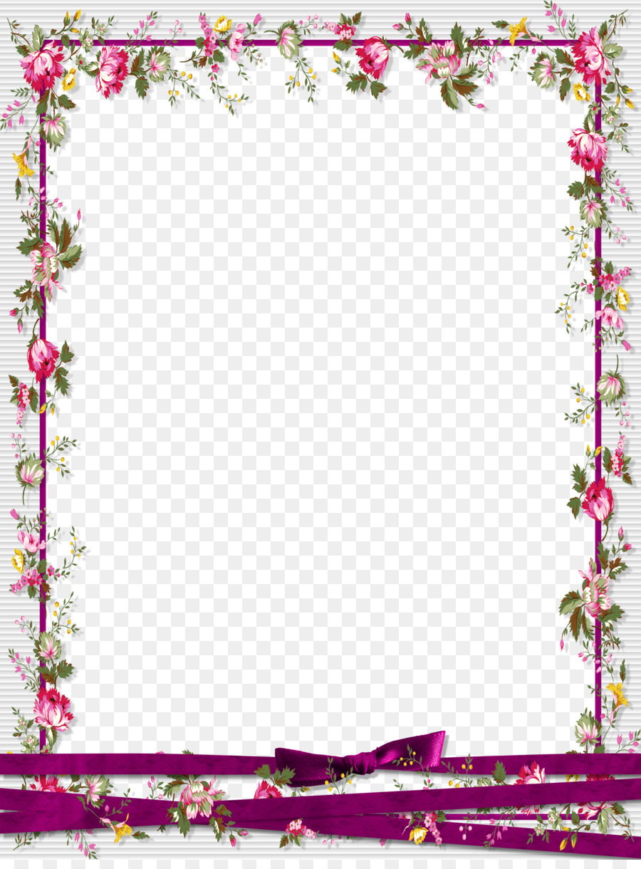 picture frame graphic design floral border design png. Black Bedroom Furniture Sets. Home Design Ideas