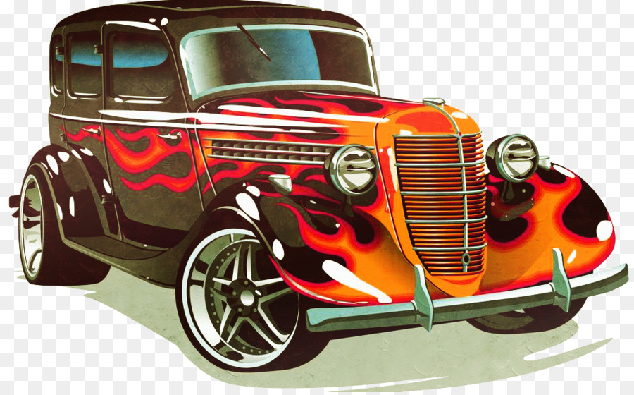 Sports car Hot rod Classic car - classic cars png download - 1024 ...