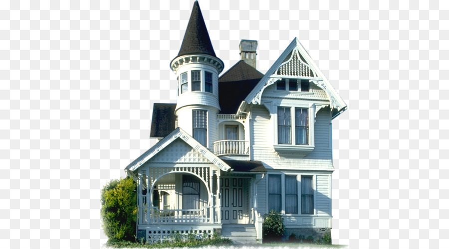 American Queen Anne Style Victorian House Architecture