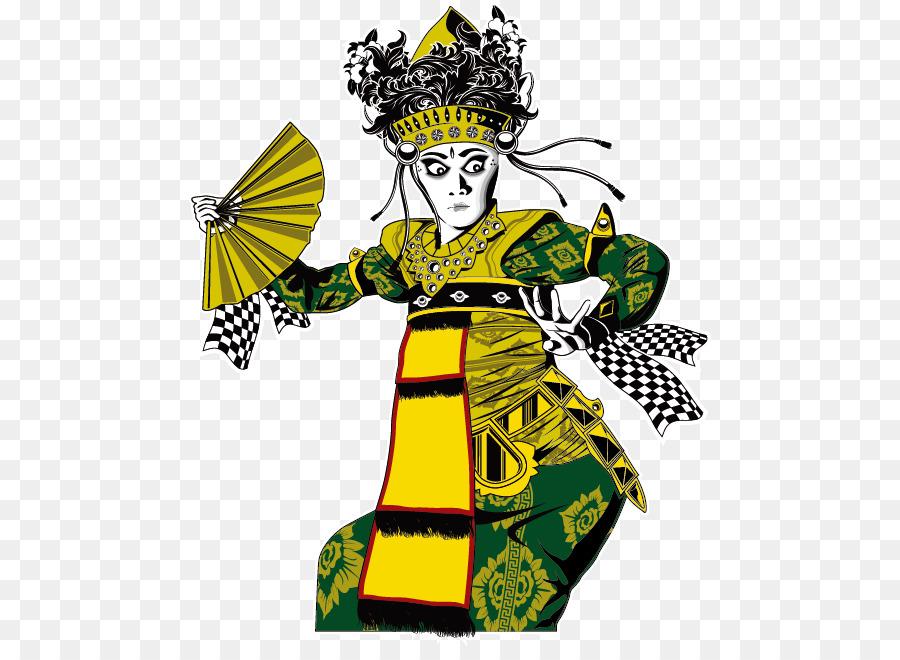 Balinese Temple Balinese People Balinese Dance Vector Actor Png