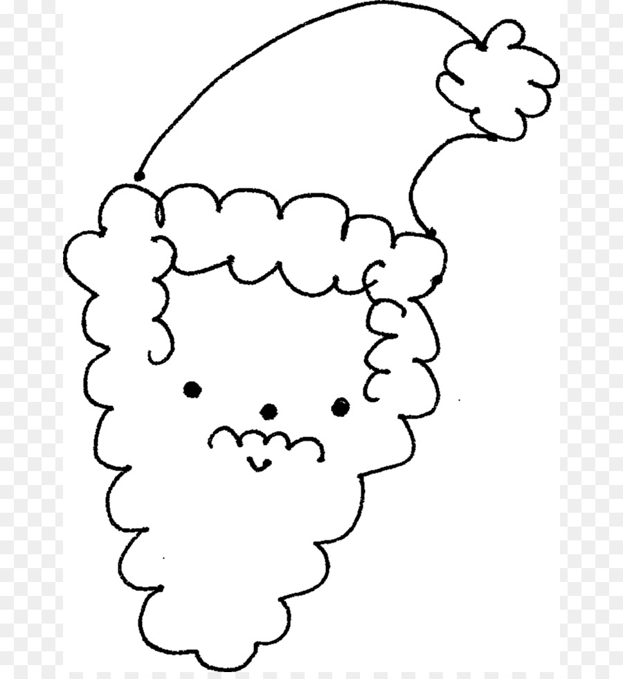 Rodolfo Santa Claus para Colorear libro calendario de Adviento Clip ...