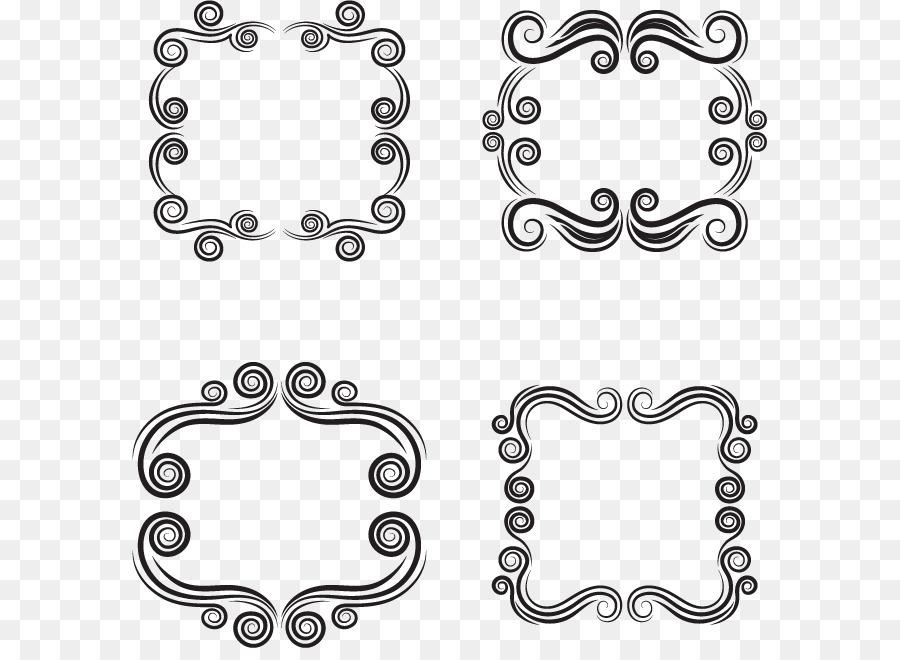 Cartouche Adobe Illustrator Euclidean vector - Vector circle frame ...
