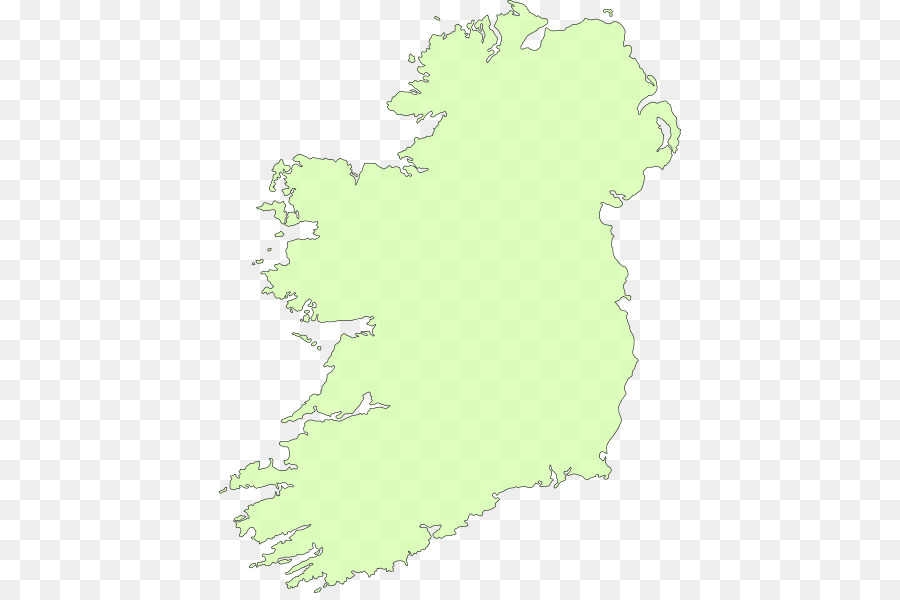 Map Of Ireland To New York.Green Grass Background Png Download 462 593 Free Transparent