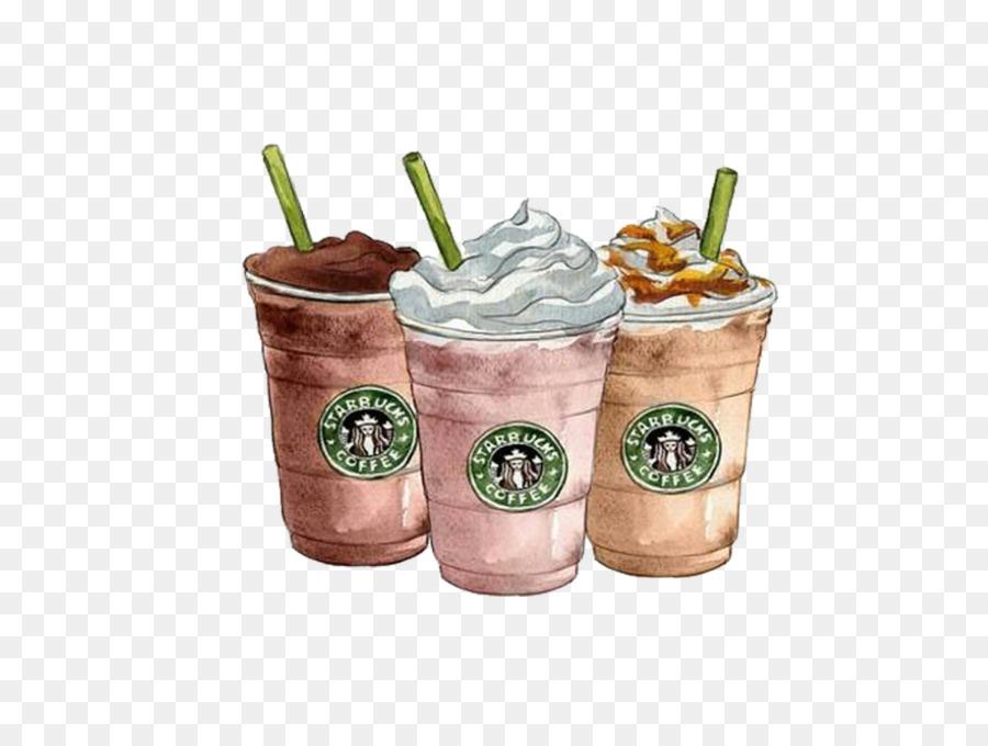 Coffee Drawing Starbucks Frappuccino Clip Art