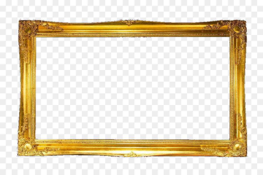 Cuadro de texto de Oro - Golden marco del cuadro de texto Formatos ...
