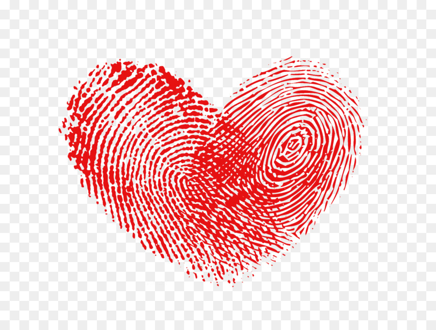 Herz Fingerabdruck Raster Grafiken Fingerabdruck Herz Png