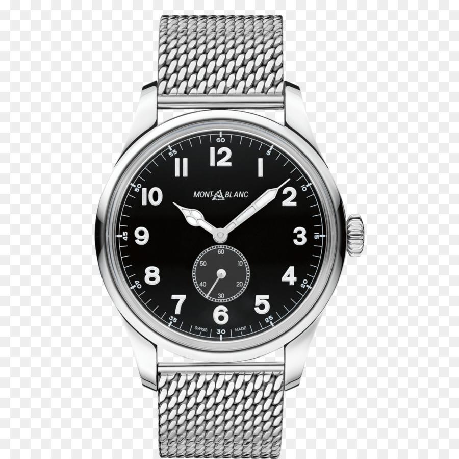 731f1abbb53 Montblanc Villeret Congratula-Se Do Relógio Cronógrafo Obra-Prima - Montblanc  preto masculino relógio