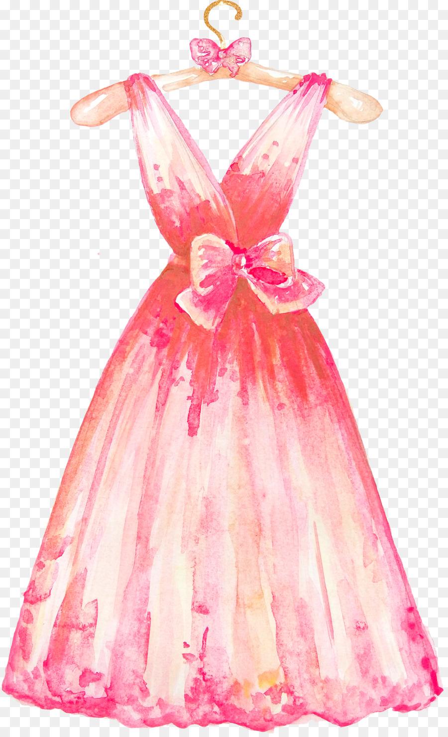 Vestido de novia Ropa de percha de ropa Formal - Vestidos de png ...