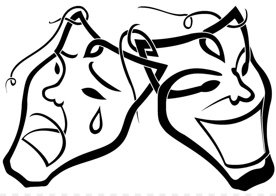mask drama clip art drama masks clipart png download 900 632 rh kisspng com drama masks clip art free