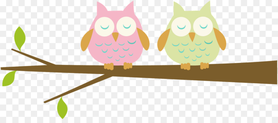 owl branch clip art two cute owls png download 936 405 free rh kisspng com owl on tree branch clip art