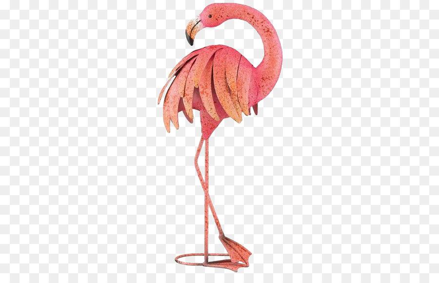 Plastic flamingo Metal Garden ornament - Cartoon flamingo png ...
