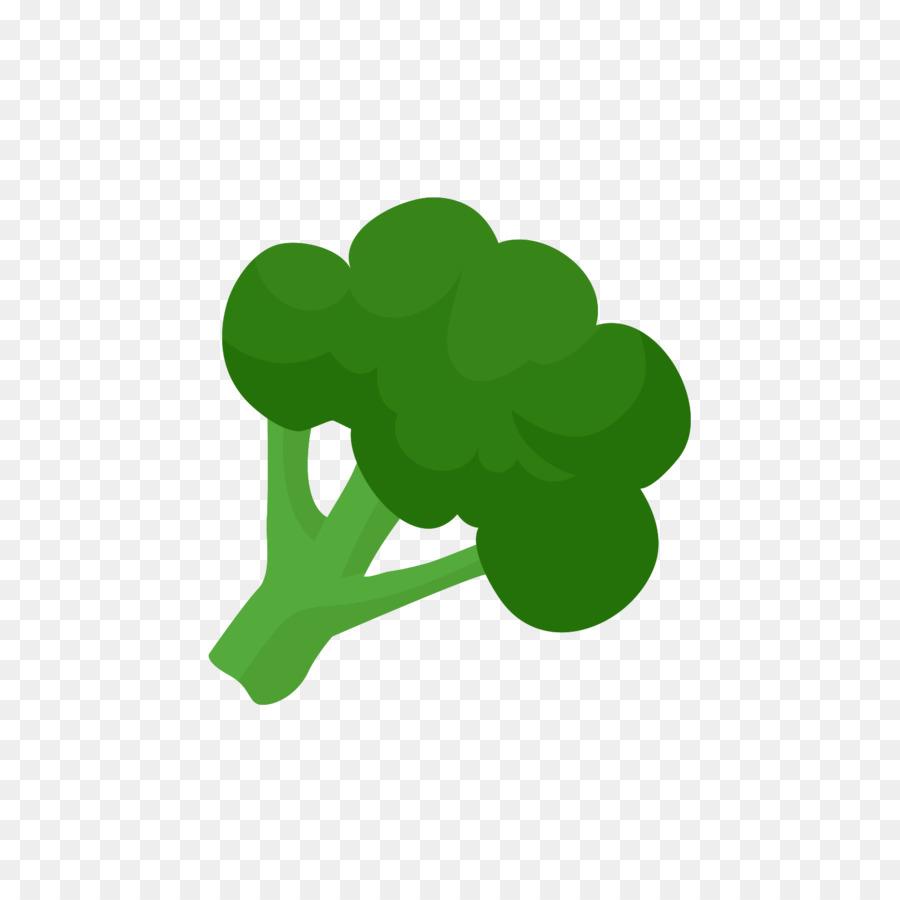 Coliflor Brócoli Broccoflower diseño Plano de los Alimentos - Verde ...