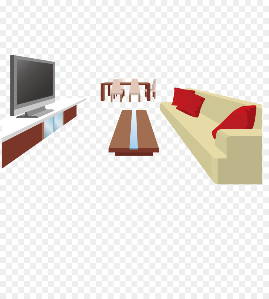 Table Couch Living room Television Cabinetry - Living room sofa TV ...